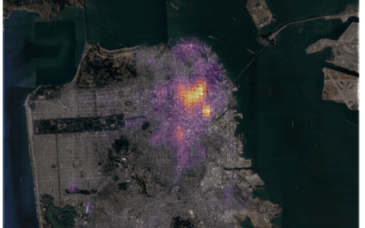 How to create a crime heatmap in R